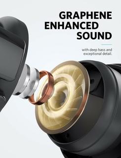 Graphene-Enhanced Sound