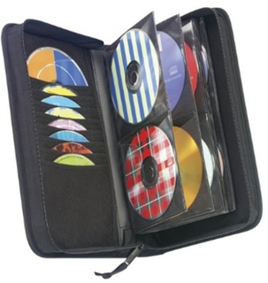 Holds 64 Cds Or 32 With Liner Notes