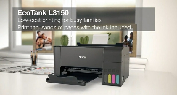 Epson EcoTank L3150 3-in-1 Printer | EPSON | Xcite Kuwait