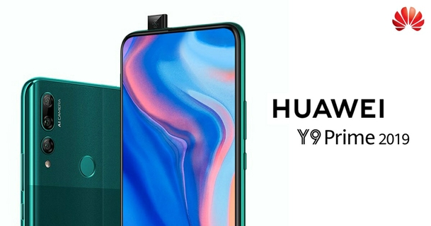 HUAWEI Y9 Prime 2019, pop-up camera, Ultra Wide Angle Lens | HUAWEI
