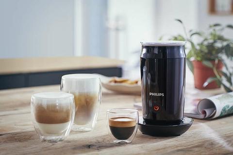 متعدد الوظائف: مجموعة متنوعة من القهوة ومشروبات الحليب