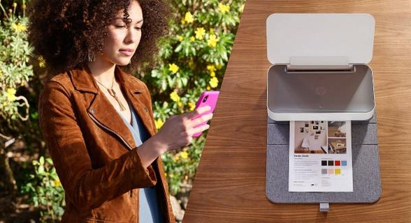 NEW HP Tango X Printer: Small, Smart, And Stylish