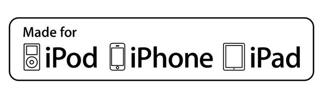 Made for iPod/iPhone/iPad