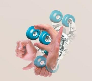 Intelligent Mechanical 3D Massage Hands