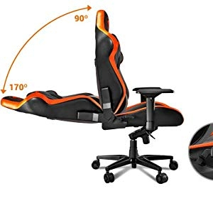 Continuous Reclining. 170º Reclining
