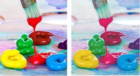 ألوان تنبض بالحياة