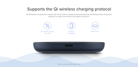 Supports Qi wireless charging