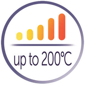 Variable High Heat up to 200°C