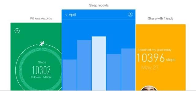 يمكنك المزامنة مع التطبيق لتحليل أنشطة اللياقة البدنية والنوم لمساعدتك في تحسين نمط حياتك.