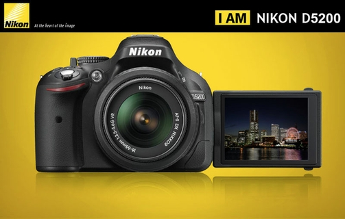 nikon d5200 24mp dslr camera with 18 55mm lens black xcite rh xcite com sa Nikon D5200 DSLR Cameras Nikon D5200 DSLR Cameras