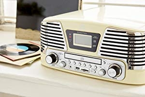 GPO Memphis - 4-in-1 Music Centre with CD and FM Radio