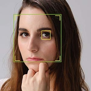 Substantially improved performance with face- and eye-detection AF