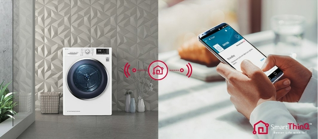 Smart Convenience with SmartThinQ