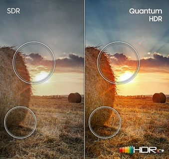 Quantum HDR powered by HDR10+