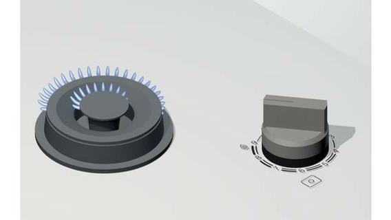 Bosch 90CM Hard Glass Gas Cooking Hob