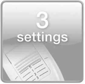 ٣ إعدادات لدرجة الحرارة