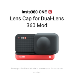 غطاء عدسة Insta360 ONE R لـ 360 Mod
