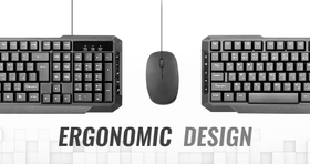 Ergonomic Shape For Comfortable Typing