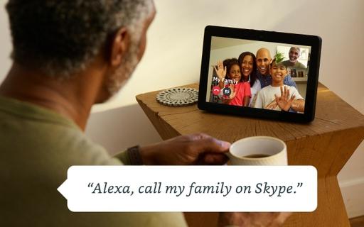 ارسال رسائل و مكالمات فيديو من دون التحكم باليد