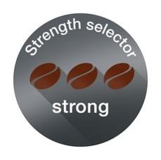 Coffee strength selector