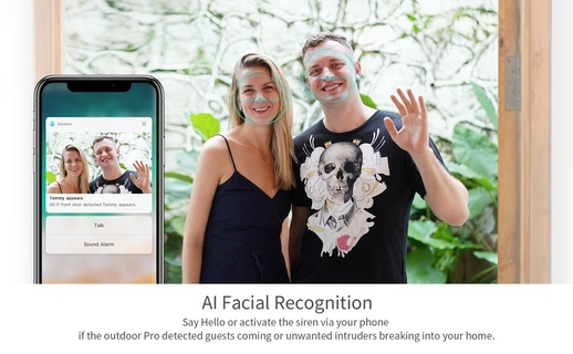 Smart Detection and Facial Recognition