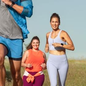 20+ Goal-Based Exercise Modes + SmartTrack™