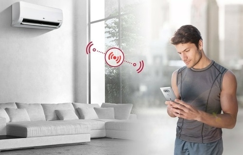 Smartly Convenient: Split AC with a Wi-Fi