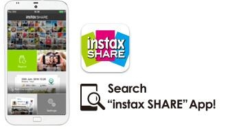 "Download Free ""instax Share"" From App Store, Google Play"