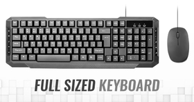 Full-Sized Keyboard With All The Functions