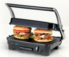 Kenwood Contact Grill With Non-stick Plates – HG365