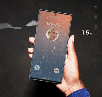 The Phone That's Not Afraid Of A Little Water