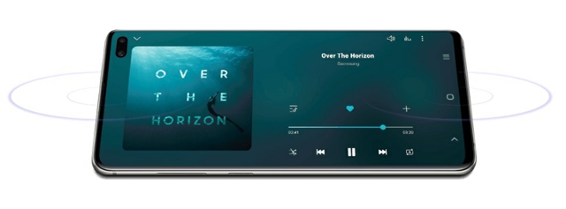 Stereo Speakers And Dolby Atmos Combine For A Theater-like Experience.