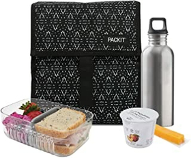 Packit Freezable and Foldable Lunch Bag –Dessert Plains
