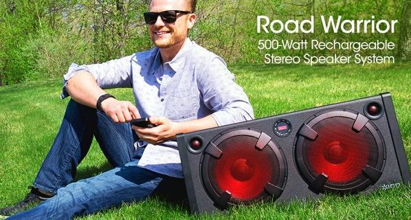 Ion Road Warrior 10W Stereo Speaker System  Xcite Alghanim