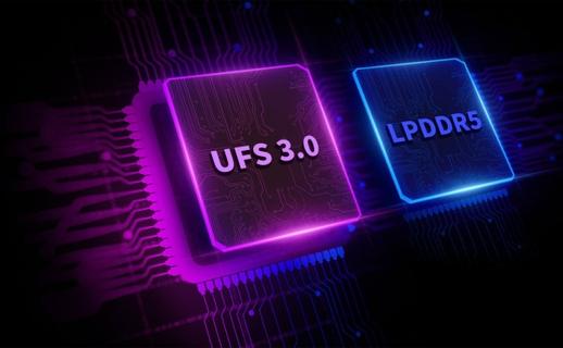 LPDDR5* + UFS 3.0