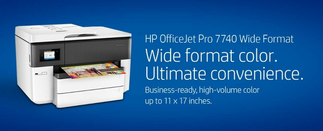HP OfficeJet Pro 7740 All-in-One Printer - G5J38A
