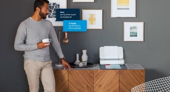 Voice Command Printing Using Amazon Alexa, Google Home, and Microsoft Cortana