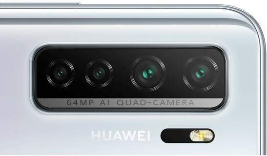 64 MP AI Quad-Camera System