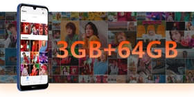 3GB + 64GB3Large Storage