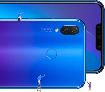 Huawei Nova 3i 128GB Phone - Purple