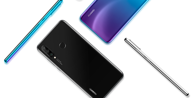 Sleek Design of Huawei P30 Lite