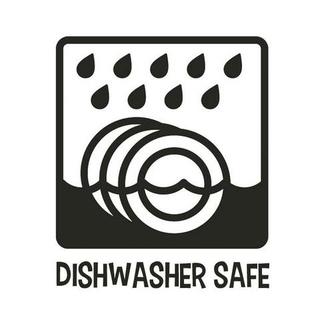 Dishwasher Safe.