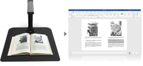 Wide choice of export formats and automatic document cropping