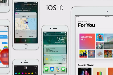 iOS 10. It's why there's nothing else like an iPhone.