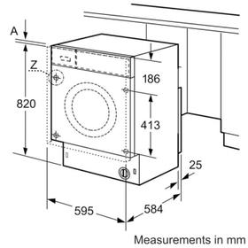 Bosch Built-In Washer Dryer