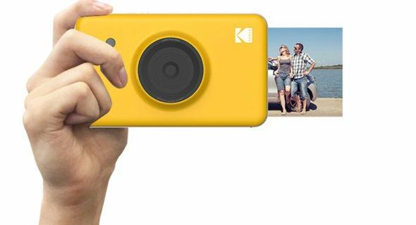 Kodak Mini Shot Wireless Instant 2 In 1 Camera Printer Yellow