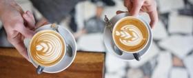 مذاق القهوة مع طعم الحليب الرائع