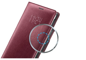detailed look fc962 a8e66 Samsung Galaxy Note 4 LED Flip Cover - Red | Xcite Alghanim ...