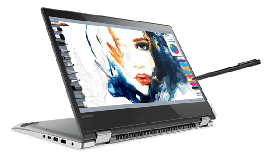 Work & Play with the Optional Lenovo Active Pen & Windows Ink