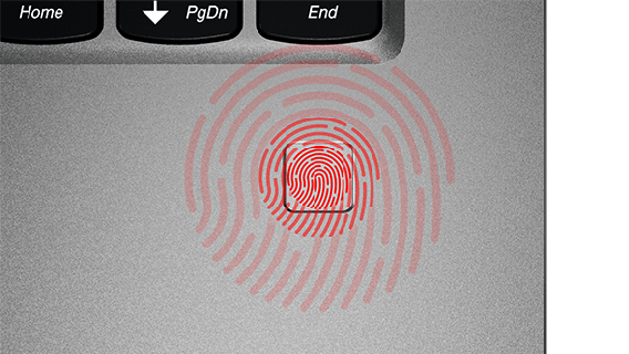 Streamlined Security with Fingerprint Reader & Windows Hello